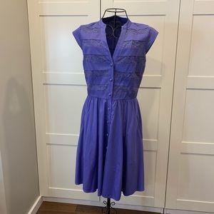 Cynthia Steffe Purple Dress